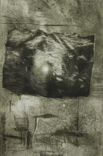 Aquatint, etching and drypoint on copper plate